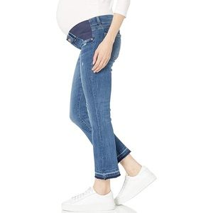 DL1961 Lara maternity mid rise crop boot jeans